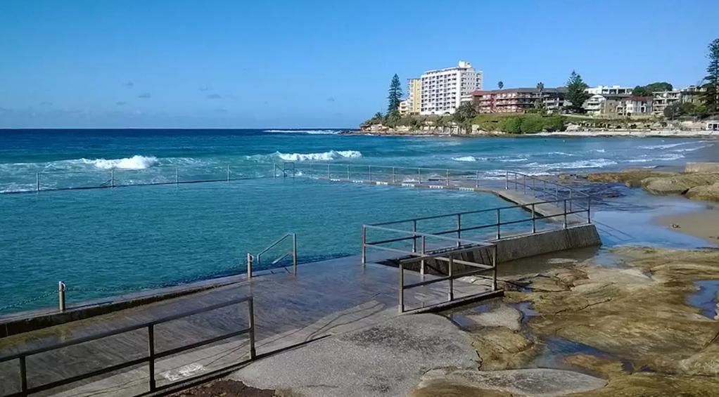 Cronulla Rock Poolで泳げる (もちろん無料)